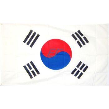 Südkorea Fahne 150 x 90cm mit Metallösen