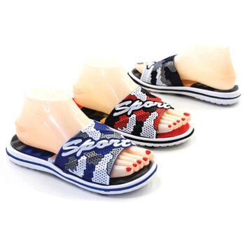 Damen Slippers Strandschuh Sommer Schuh Shoes Slip on Mix Sandale Sandalette Pantolette - 3,39 Euro