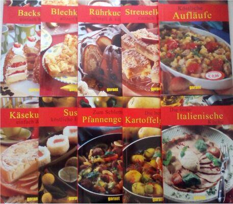 12-264898, Kochbuch Essen und Geniessen, 40 Titel, 47 Seiten