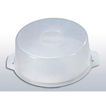 12-800128, Tortenglocke, Platte mit Tortenhaube, Kuchenplatte, Kuchencontainer, ideal zum transportieren