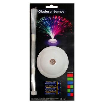 10-597130, LED Glasfaserlampe