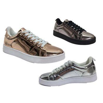 Damen Sneaker Schnür Schuhe Schuh Shoes Sportschuhe Freizeit Schuh nur 10,49 EUR