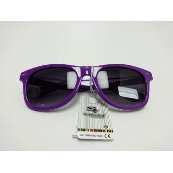 Lila Wayfarer Sonnenbrille - SunVision