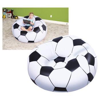 17-68028, aufblasbarer Fußballsessel, 114x112x71cm