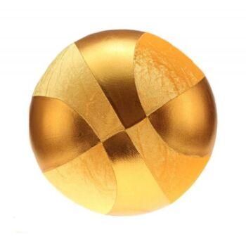 10-546580, Metallic-Velour-Ball, 40 cm, Aufblasball, Wasserball, Beachball, Spielball