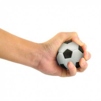 10-642030, Knautschball 6 cm, Antistressball Fußball, Fussball, Knetball, Drückball, Knautschen, Drücken, Kicken, Stressabbau+++++
