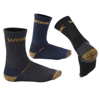 Herren Work Socks Strumpf Socken Arbeitssocken Strümpfe Übergrößen Robust Outdoor - 0,59 Euro