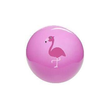 21-4870, PVC Ball Flamingo 23 cm, Waserball, Fussball, Spielball, Strandball