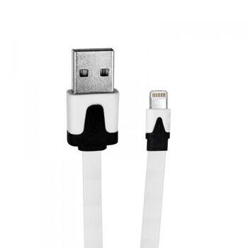 Daten-u. Ladekabel iPhone 5 5C 5S 6 6+6S 6S+ 7 7+, iPad 1m USB, iOS9 Eaxus