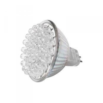 MR16 GU5,3 Leuchtmittel hellweiß 38 LEDs, A+ 2W, 115 Lumen 2kWh/1000h, Eaxus