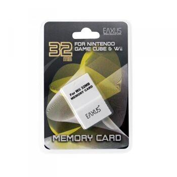 Nintendo GameCube und Wii 32 MB Memory Card, Speicherkarte, Eaxus
