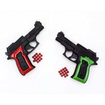 27-60266, Softair Pistole, Kugelpistole inkl. Munition