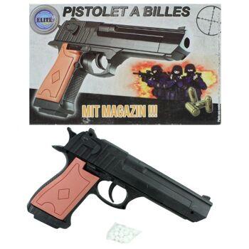 27-60383, Softair Pistole mit Magazin, Kugelpistole inkl. Munition