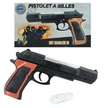 27-60384, Softair Pistole 23,5 cm, Kugelpistole inkl. Munition