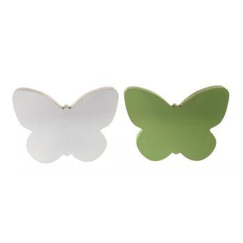 17-72285, Holz Deko-Schmetterling, 20 x 15 cm