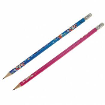 10-557400, Bleistifte 12er Set, mit Radiergummi, Malstifte, Bleistift, Schreibstift