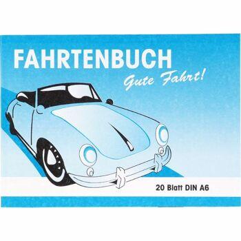 28-030770, Fahrtenbuch DIN A6, 20 Blatt