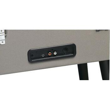 Denver VPL-150BT freistehender Retro Schallplattenspieler mit Bluetooth MP3, USB, Smartphonesteuerung