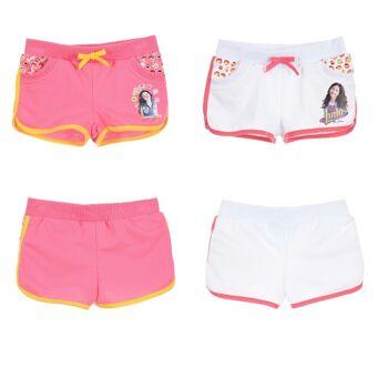 Disney Soy Luna rosa & weiße Kinder Shorts