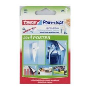 12-5800300079, Tesa Powerstrips 20er Pack, für Poster usw