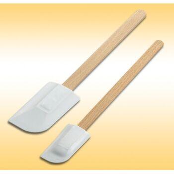 12-801561, Teigschaber mit Holzgriff 27,5 cm