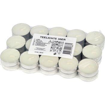 28-040122, Teelichter 30er Pack, Teelichtkerze