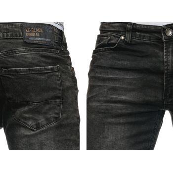 Modische Herren Jeanshose Vintage Destroyed-Look Slim-Fit Hosen Jeans Denim Washed - 16,90 Euro