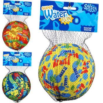 28-541847, farbenfroher Wasserball 14 cm, Spielball