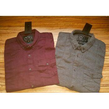 Herren-Hemden / Workwear / Arbeitshemden / Flanell-Hemden / Arbeitskleidung