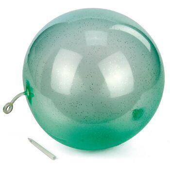 28-757087, Magischer Ballon Ball 25 cm, Mischung aus Ballon und Spielball, Beachball, Wasserball, Strandball, Fussball