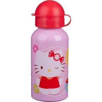 Hello Kitty Jelly Beans Alu-Trinkflasche 400ml., 1 Stück