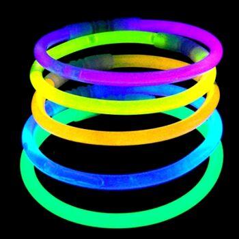 06-6054, Leucht Knickstäbe 100er  Glow in the dark, knicklicht, Party, Disco, Event, usw