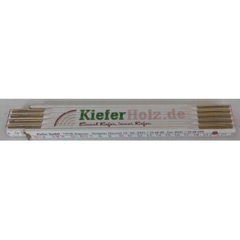 12-7134567, Holz Zollstock 200 cm, hochwertig, 2 Meter - SONDERPOSTEN