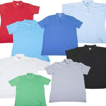 Marken Damen Polo-Shirt Polos neutral S-Xxl viele Farben