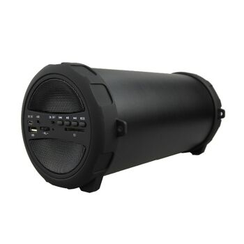 Denver BTS-53 Bluetooth Soundbox schwarz Lautsprecher Bassbox 10W MP3 3000mAh
