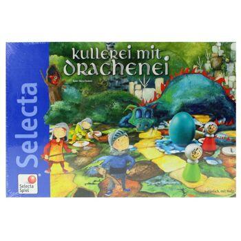 27-49279, Selecta Kullerei mit Drachenei Spiel, mit Holzteilen