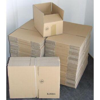 300 Stück Karton 1-wellig, 250x180x120mm