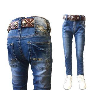 Kinder Kids Jungen Trend Jeanshose Denim Jeans Hosen Hose Skinny Kinderhose - 6,90 Euro