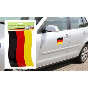 17-12939, Automagnet Deutschland, BRD Farben, Fahne, Flagge, Party, Event, usw