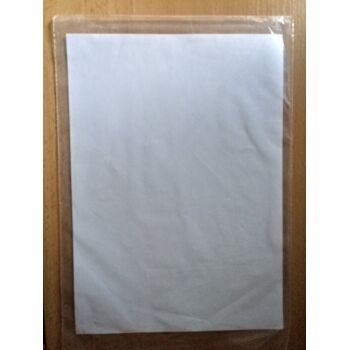 Set 100 x PE Beutel Plastiktuete Folienbeutel transparent 125 x 530 mm