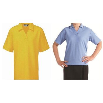 Damen Mädchen Polo Shirt Sport Oberbekleidung Polos