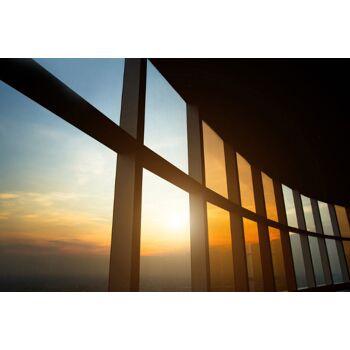 Sonnenschutzfolie 77 cm breit Sichtschutz innen Folie Sonnenschutz