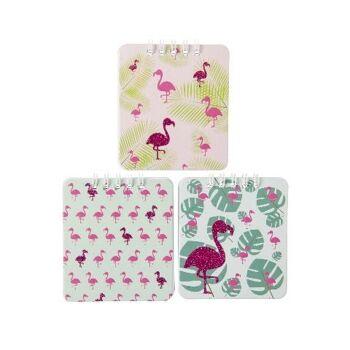27-80359, Notizbuch Flamingo, Schreibblock