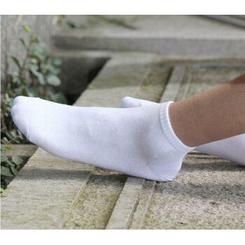 Garcia Pescara 6 Paar Sneaker Socken in weiß Gr. 40-46 aus Baumwolle Füßlinge Sportsocken Herrensocken Damensocken Herren Damen Herr