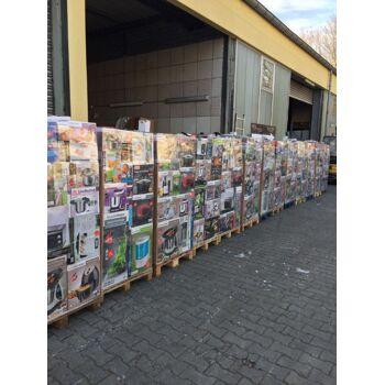 Mixpaletten Mischpaletten Elektro Küchengeräte unsortierte A+B Ware LKW Container EXPORT 350 €