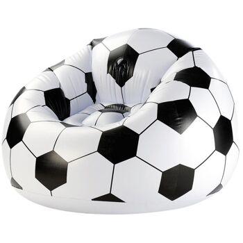 27-71426, Deutschland Fussball Sitzsack aufblasbar