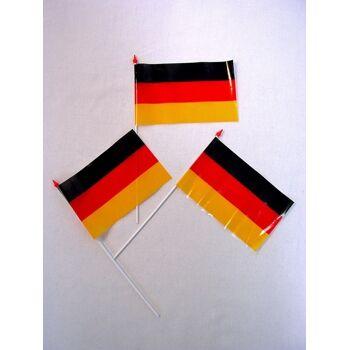 27-99000200, Fahne Deutschland am Stab, BRD Farben, Flagge