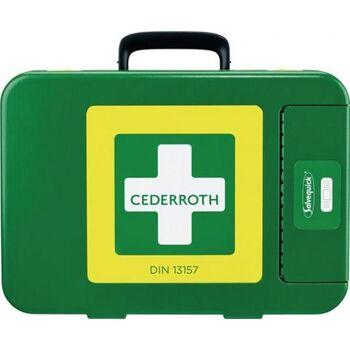 Erste Hilfe Koffer First-Aid-Kits, 300 x 420 x 118 mm, grün