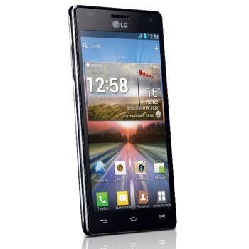 LG P880 Optimus 4X HD Smartphone (11,9 cm (4,7 Zoll) Touchscreen, 8 Megapixel Kamera, 1,5GHz, NFC, WiFi, Android 4.0)