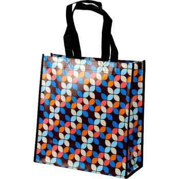 28-02736, Einkaufstasche 35 x 38 cm, mit Motiv, mit Henkel, Shoppingbag, Strandtasche
